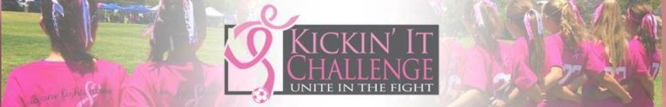 2019 Kickin It Challenge Breast Cancer Tournament banner